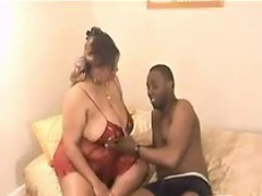 Ebony BBW With Big Breasts..