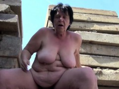 German old BBW Old lady get..