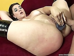 Short Haired BBW Anal Mating