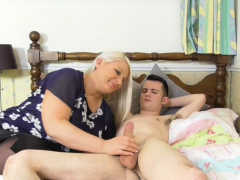 Old woman Sami titfucked..